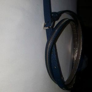 Michael Kors womens blue belt